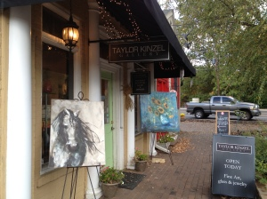 Stroll down Canton Street for Art Galleries, boutiques and fine dining ~ Roswell GA.